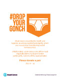 Drop Your Gonch Drop Off Poster