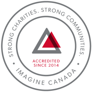 Imagine Canada Strong Charities Accreditation Seal 2014