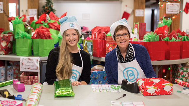 Volunteers for Bissell Festive Giveaway