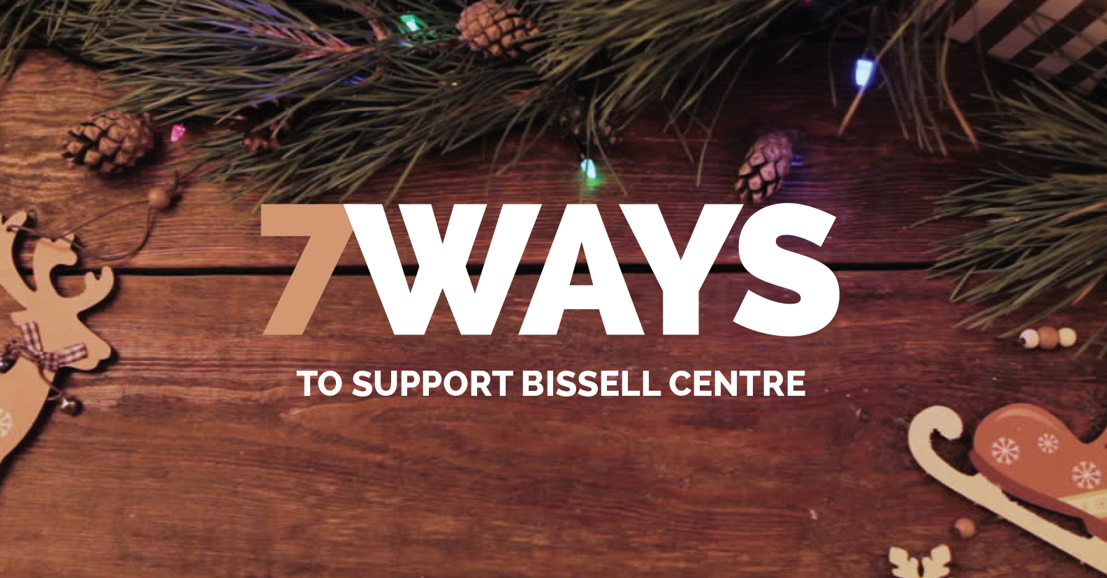 7 Ways to Support Bissell Centre this Holiday Season