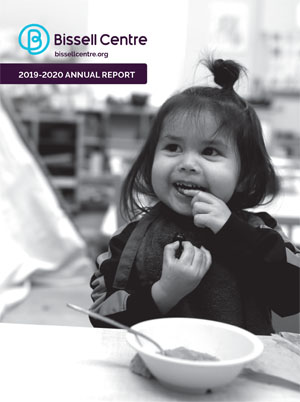 2019-2020 Bissell Centre Annual Report Cover
