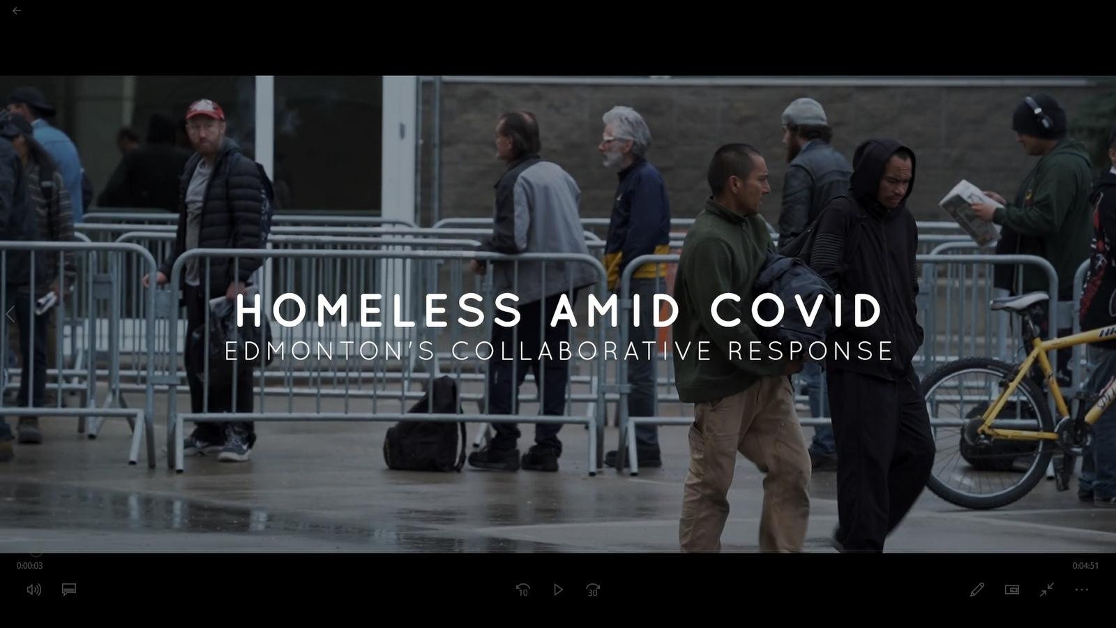 homeless amid covid - edmonton's collaborative response